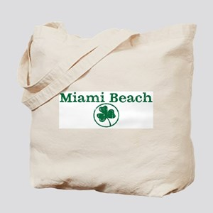 Miami Beach shamrock Tote Bag
