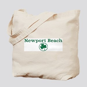 Newport Beach shamrock Tote Bag