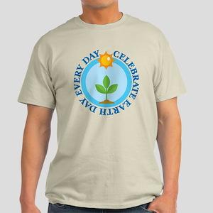 Celebrate Earth Day Light T-Shirt