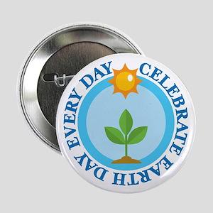 "Celebrate Earth Day 2.25"" Button"