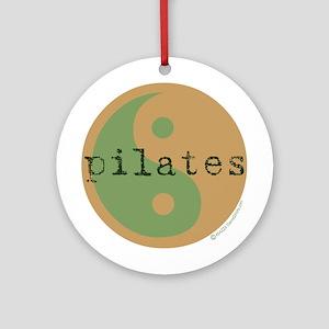 Pilates Yin Yang Ornament (Round)