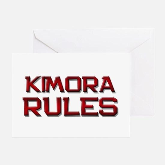 kimora rules Greeting Card