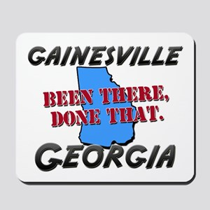 gainesville georgia - been there, done that Mousep