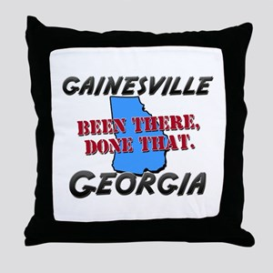 gainesville georgia - been there, done that Throw