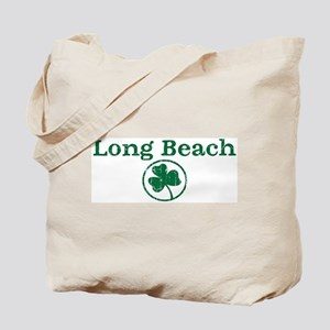 Long Beach shamrock Tote Bag
