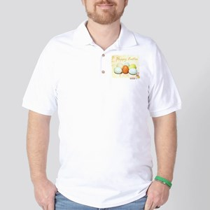 Happy Easter Eggs Golf Shirt
