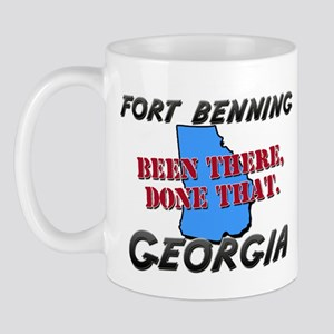 fort benning georgia - been there, done that Mug