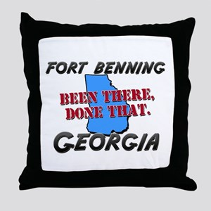 fort benning georgia - been there, done that Throw