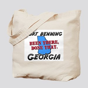 fort benning georgia - been there, done that Tote