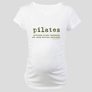 Pilates Spirit Maternity T-Shirt