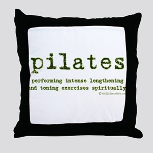 Pilates Spirit Throw Pillow