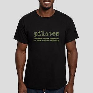 Pilates Spirit Men's Fitted T-Shirt (dark)