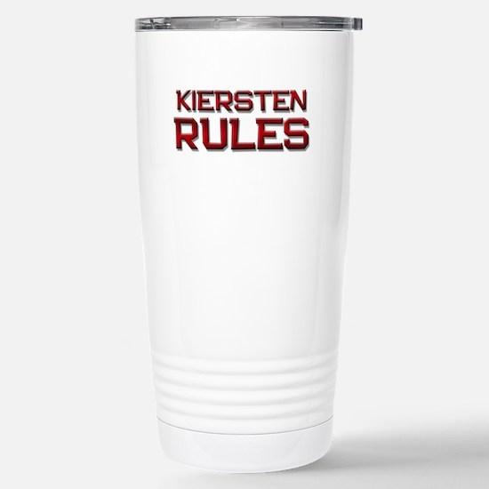 kiersten rules Stainless Steel Travel Mug