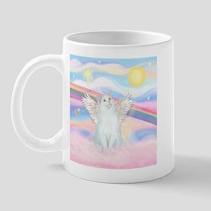 Clouds / (White) Cat Mug