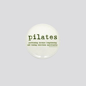 Pilates Spirit Mini Button