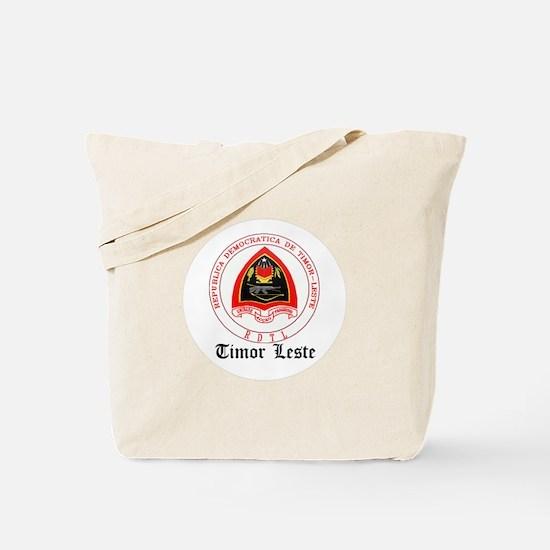 Timorese Coat of Arms Seal Tote Bag