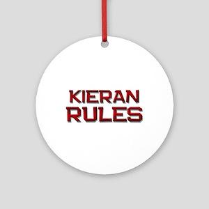 kieran rules Ornament (Round)