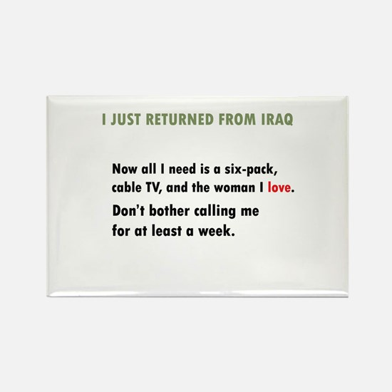 iraq Rectangle Magnet