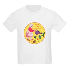 Pictures on Kids T-Shirts Mother Goose