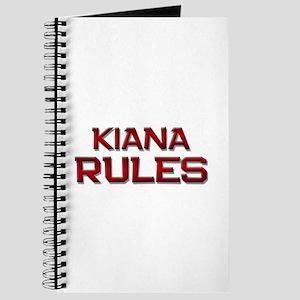 kiana rules Journal
