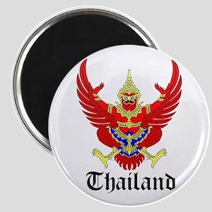 Thai Coat of Arms Seal Magnet