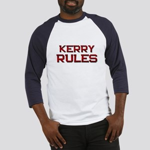kerry rules Baseball Jersey