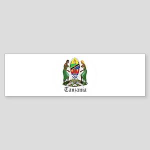 Tanzanian Coat of Arms Seal Bumper Sticker