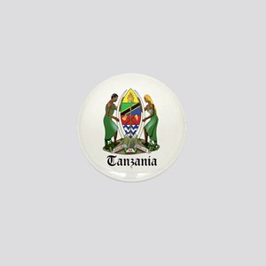 Tanzanian Coat of Arms Seal Mini Button