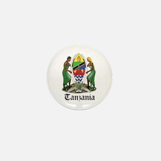 Tanzanian Coat of Arms Seal Mini Button
