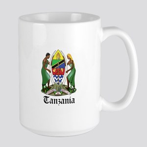 Tanzanian Coat of Arms Seal Large Mug