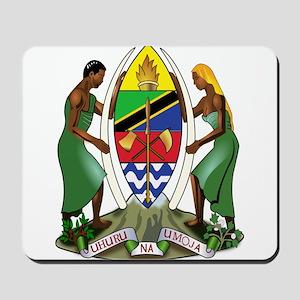 Tanzania Coat of Arms Mousepad