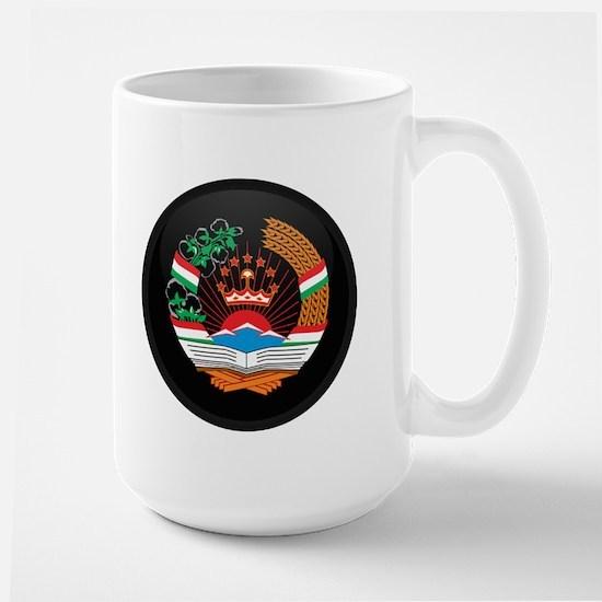 Coat of Arms of Tajikistan Large Mug