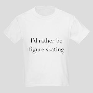 I'd Rather Skate Kids Light T-Shirt