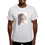 Nubian Beauty Ash Grey T-Shirt