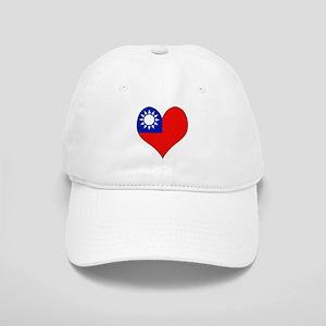 I Love taiwan Cap