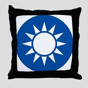 taiwan Coat of Arms Throw Pillow