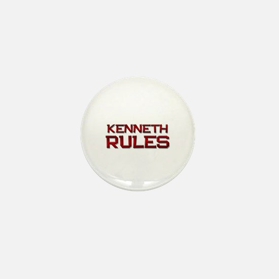 kenneth rules Mini Button