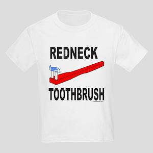 REDNECK TOOTHBRUSH Kids Light T-Shirt