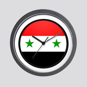 Syria Wall Clock