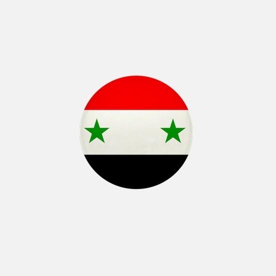 Syrian Mini Button
