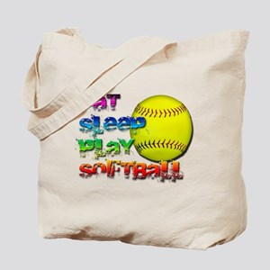 Eat sleep soft 2 Tote Bag