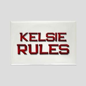 kelsie rules Rectangle Magnet