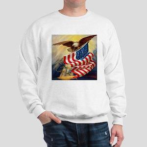 """Eagle with Flag"" Sweatshirt"
