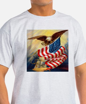 """""""Eagle with Flag"""" T-Shirt"""