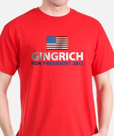Gingrich for President 2012 T-Shirt