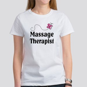 Pretty Massage Therapist Women's T-Shirt