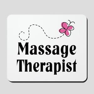 Pretty Massage Therapist Mousepad