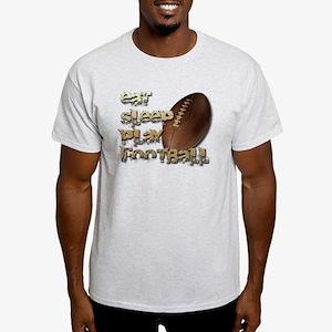 Eat sleep football Light T-Shirt