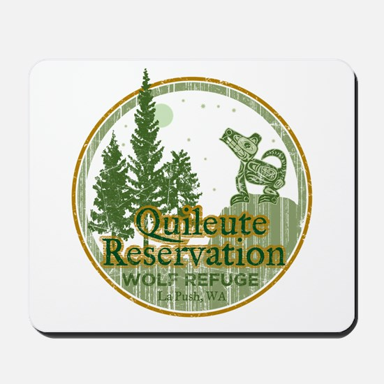 Quileute Wolf Refuge Mousepad