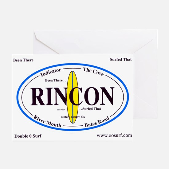 Rincon Surf Spots Greeting Cards (Pk of 10)